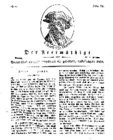 Der Freimüthige, oder Berlinisches Unterhaltungsblatt für gebildete, unbefangene Leser, 11 Februar 1811, Nr. 30