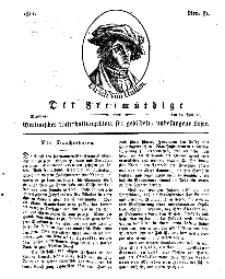 Der Freimüthige, oder Berlinisches Unterhaltungsblatt für gebildete, unbefangene Leser, 12 Februar 1811, Nr. 31