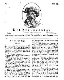 Der Freimüthige, oder Berlinisches Unterhaltungsblatt für gebildete, unbefangene Leser, 15 Februar 1811, Nr. 33