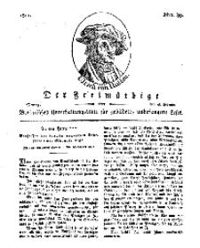 Der Freimüthige, oder Berlinisches Unterhaltungsblatt für gebildete, unbefangene Leser, 18 Februar 1811, Nr. 35
