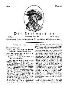 Der Freimüthige, oder Berlinisches Unterhaltungsblatt für gebildete, unbefangene Leser, 22 Februar 1811, Nr. 38
