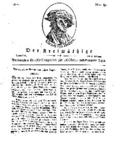 Der Freimüthige, oder Berlinisches Unterhaltungsblatt für gebildete, unbefangene Leser, 23 Februar 1811, Nr. 39