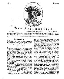 Der Freimüthige, oder Berlinisches Unterhaltungsblatt für gebildete, unbefangene Leser, 25 Februar 1811, Nr. 40