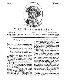 Der Freimüthige, oder Berlinisches Unterhaltungsblatt für gebildete, unbefangene Leser, 28 Februar 1811, Nr. 42