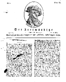 Der Freimüthige, oder Berlinisches Unterhaltungsblatt für gebildete, unbefangene Leser, 25 März 1811, Nr. 60