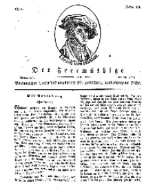 Der Freimüthige, oder Berlinisches Unterhaltungsblatt für gebildete, unbefangene Leser, 28 März 1811, Nr. 62