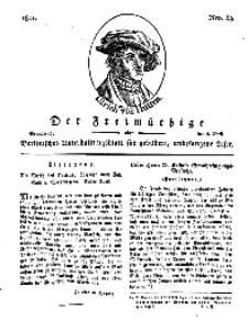 Der Freimüthige, oder Berlinisches Unterhaltungsblatt für gebildete, unbefangene Leser, 6 April 1811, Nr. 69