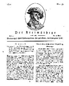 Der Freimüthige, oder Berlinisches Unterhaltungsblatt für gebildete, unbefangene Leser, 12 April 1811, Nr. 73