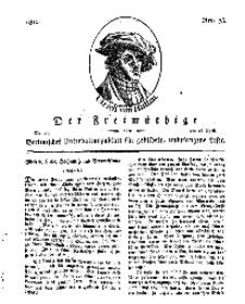 Der Freimüthige, oder Berlinisches Unterhaltungsblatt für gebildete, unbefangene Leser, 15 April 1811, Nr. 75