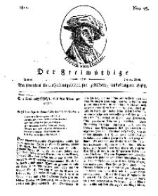 Der Freimüthige, oder Berlinisches Unterhaltungsblatt für gebildete, unbefangene Leser, 19 April 1811, Nr. 78