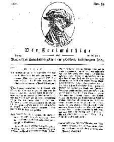 Der Freimüthige, oder Berlinisches Unterhaltungsblatt für gebildete, unbefangene Leser, 26 April 1811, Nr. 83