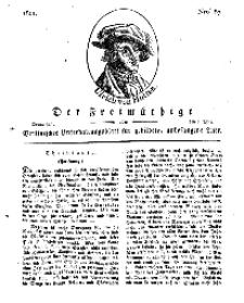 Der Freimüthige, oder Berlinisches Unterhaltungsblatt für gebildete, unbefangene Leser, 2 Mai 1811, Nr. 87