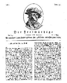 Der Freimüthige, oder Berlinisches Unterhaltungsblatt für gebildete, unbefangene Leser, 7 Mai 1811, Nr. 91