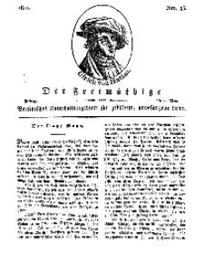Der Freimüthige, oder Berlinisches Unterhaltungsblatt für gebildete, unbefangene Leser, 10 Mai 1811, Nr. 93