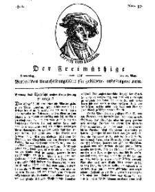 Der Freimüthige, oder Berlinisches Unterhaltungsblatt für gebildete, unbefangene Leser, 16 Mai 1811, Nr. 97