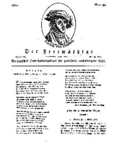 Der Freimüthige, oder Berlinisches Unterhaltungsblatt für gebildete, unbefangene Leser, 18 Mai 1811, Nr. 99