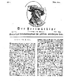 Der Freimüthige, oder Berlinisches Unterhaltungsblatt für gebildete, unbefangene Leser, 20 Mai 1811, Nr. 100