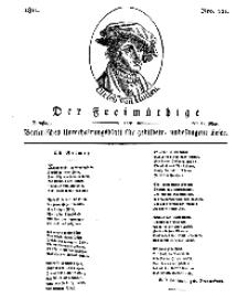 Der Freimüthige, oder Berlinisches Unterhaltungsblatt für gebildete, unbefangene Leser, 21 Mai 1811, Nr. 101