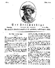 Der Freimüthige, oder Berlinisches Unterhaltungsblatt für gebildete, unbefangene Leser, 23 Mai 1811, Nr. 102