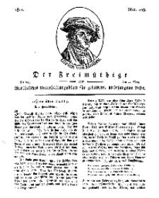 Der Freimüthige, oder Berlinisches Unterhaltungsblatt für gebildete, unbefangene Leser, 24 Mai 1811, Nr. 103