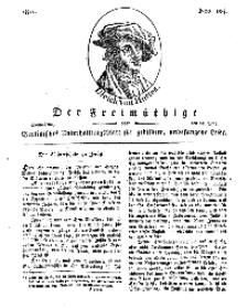Der Freimüthige, oder Berlinisches Unterhaltungsblatt für gebildete, unbefangene Leser, 25 Mai 1811, Nr. 104
