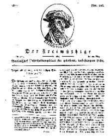 Der Freimüthige, oder Berlinisches Unterhaltungsblatt für gebildete, unbefangene Leser, 28 Mai 1811, Nr. 106