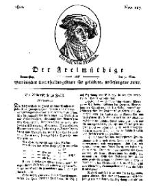 Der Freimüthige, oder Berlinisches Unterhaltungsblatt für gebildete, unbefangene Leser, 30 Mai 1811, Nr. 107
