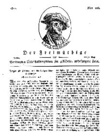 Der Freimüthige, oder Berlinisches Unterhaltungsblatt für gebildete, unbefangene Leser, 31 Mai 1811, Nr. 108