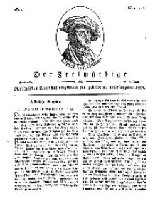 Der Freimüthige, oder Berlinisches Unterhaltungsblatt für gebildete, unbefangene Leser, 6 Juni 1811, Nr. 112