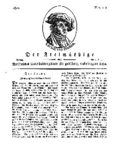Der Freimüthige, oder Berlinisches Unterhaltungsblatt für gebildete, unbefangene Leser, 7 Juni 1811, Nr. 113