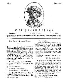 Der Freimüthige, oder Berlinisches Unterhaltungsblatt für gebildete, unbefangene Leser, 8 Juni 1811, Nr. 114