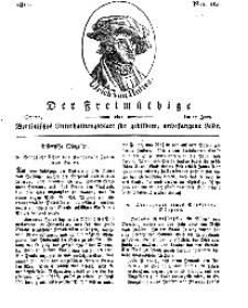 Der Freimüthige, oder Berlinisches Unterhaltungsblatt für gebildete, unbefangene Leser, 17 Juni 1811, Nr. 120