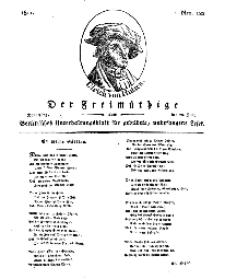 Der Freimüthige, oder Berlinisches Unterhaltungsblatt für gebildete, unbefangene Leser, 20 Juni 1811, Nr. 122