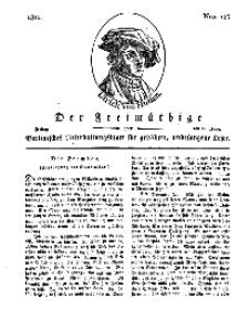 Der Freimüthige, oder Berlinisches Unterhaltungsblatt für gebildete, unbefangene Leser, 21 Juni 1811, Nr. 123