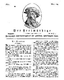 Der Freimüthige, oder Berlinisches Unterhaltungsblatt für gebildete, unbefangene Leser, 22 Juni 1811, Nr. 124