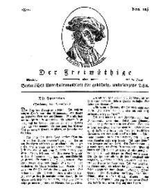 Der Freimüthige, oder Berlinisches Unterhaltungsblatt für gebildete, unbefangene Leser, 24 Juni 1811, Nr. 125
