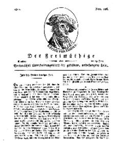 Der Freimüthige, oder Berlinisches Unterhaltungsblatt für gebildete, unbefangene Leser, 25 Juni 1811, Nr. 126