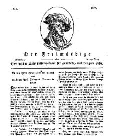 Der Freimüthige, oder Berlinisches Unterhaltungsblatt für gebildete, unbefangene Leser, 27 Juni 1811, Nr. 127