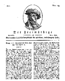 Der Freimüthige, oder Berlinisches Unterhaltungsblatt für gebildete, unbefangene Leser, 29 Juni 1811, Nr. 129