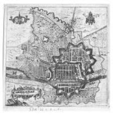 Plan Elbląga z 1635r.