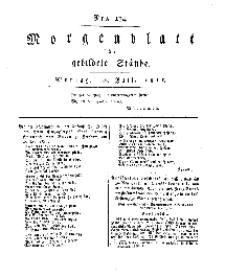 Morgenblatt für gebildete Stände, Montag, 22. Juli 1811, No 174.