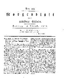 Morgenblatt für gebildete Stände, Freitag, 16. August 1811, No 196.