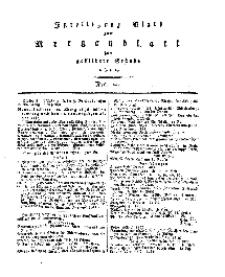 Intelligenz=Blatt zum Morgenblatt für gebildete Stände, No 20.