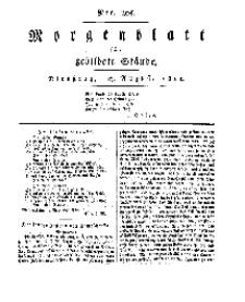 Morgenblatt für gebildete Stände, Dienstag, 27. August 1811, No 205.