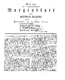 Morgenblatt für gebildete Stände, Montag, 21. October 1811, No 252.