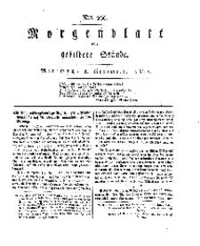 Morgenblatt für gebildete Stände, Mittwoch, 6. November 1811, No 266.