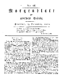 Morgenblatt für gebildete Stände, Freitag, 13. Dezember 1811, No 298.
