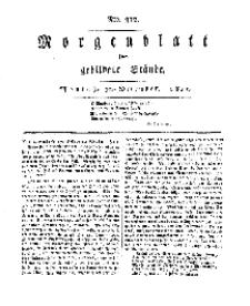 Morgenblatt für gebildete Stände, Montag, 30. Dezember 1811, No 312.