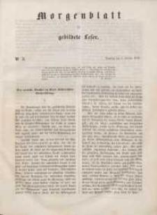 Morgenblatt für gebildete Leser, 1848, Dienstag, 4. Januar 1848, Nr 3.