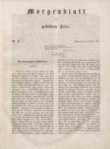Morgenblatt für gebildete Leser, 1848, Mittwoch, 5. Januar 1848, Nr 4.